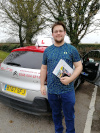 James passed after taking lessons in Redhill with Pierluigi