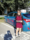 Michaela passed in Redhill after driving lessons with Pierluigi