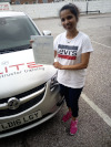 A pass after taking lessons with Elite Driving School in Croydon