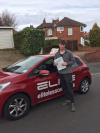 Ben passed after taking driving lessons with Sue in West Wickham