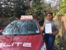 Dan passed after driving lessons with Sue in Purley