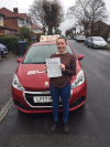 Lucy passed with Sue