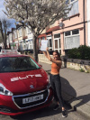 Zanya took manual driving lessons in Croydon