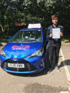 Sonni passed in Crawley after driving lessons with Szymon