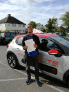 Titos passed after taking driving lessons with Elite's instructor Pierluigi in Riegate