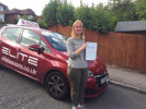 Tracy passed her test after taking driving lessons with Sue