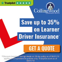 collingwood learner driver insurance